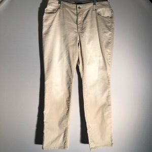 Additions By Chico's NWOT Cream Pants v15